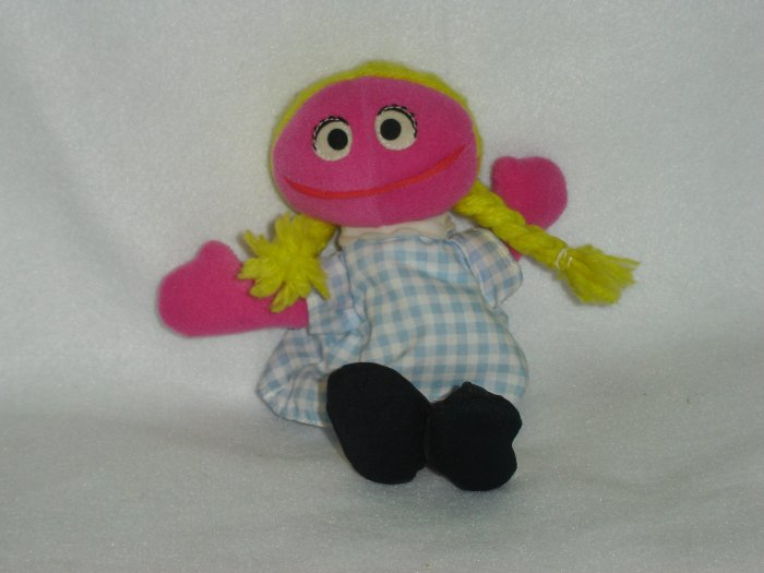 Jim Hensons Muppets Sesame Street Betty Lou Beanie Plush Doll Toy By Tyco 8 Inches