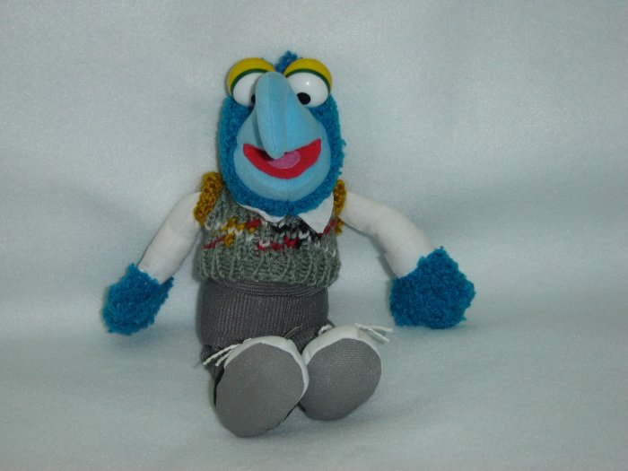 Jim Henson Productions Plush Muppets Gonzo Doll Figure Disney Muppet Vision 3D 9 Inches