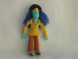 Jim Henson Muppet Collection ZOOT Electric Mayhem Band Plush Doll Sababa