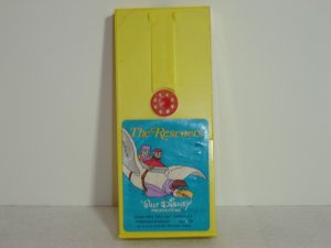 Vintage 462 Fisher Price THE RESCUERS Plastic Movie Cartridge for 460 and 463 Movie Viewers
