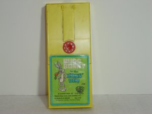 Vintage 496 Fisher Price Bugs Bunny In the Lions' Den Movie Cartridge for 460 463 Movie Viewers