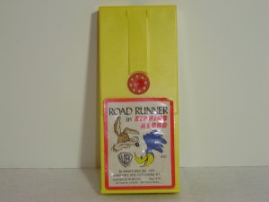 Vintage 497 Fisher Price Road Runner in Zipping Along Movie Cartridge for 460 463 Movie Viewers