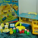 Vintage 1978 Fisher Price Little People Nursery School Play Set 929 and Original Box!