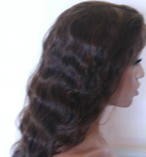 """Indian Remy Full Lace Wig-Deep wave 12"""""""