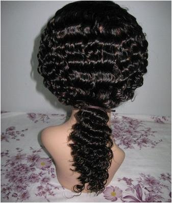 """Indian Remy Full Lace Wig-Deep wave 18"""""""