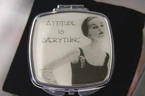 "Pocket Mirror - ""Attitude Is Everything"""