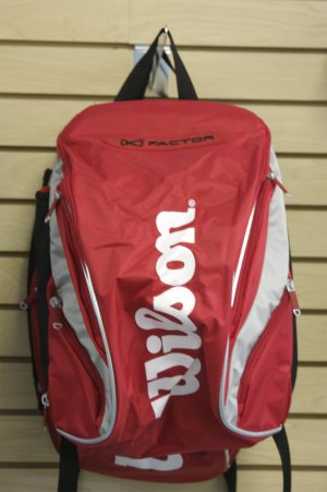 Wilson Tennis Bag - RED