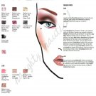 "300 + MAC PRO Cosmetics Face Charts - chart - Halloween - ""RED"" she said - barbie - fafi and more"
