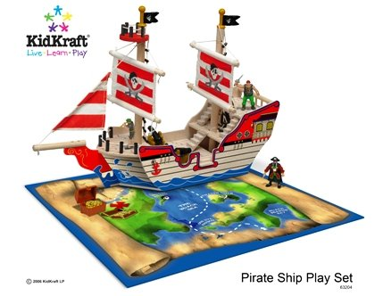 KidKraft Pirate Activity Play Set