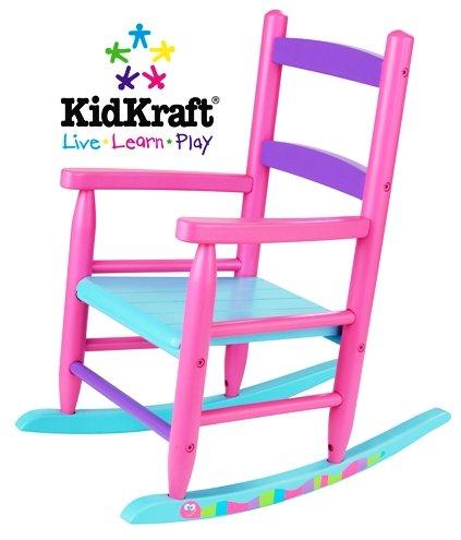 KidKraft Pink Caterpillar Rocking Chair