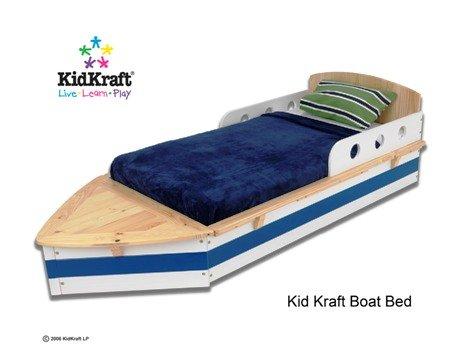 KidKraft Boat Toddler Cot Bed New