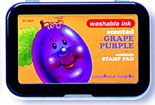 Purple Grape Scented Washable Stamp Pad