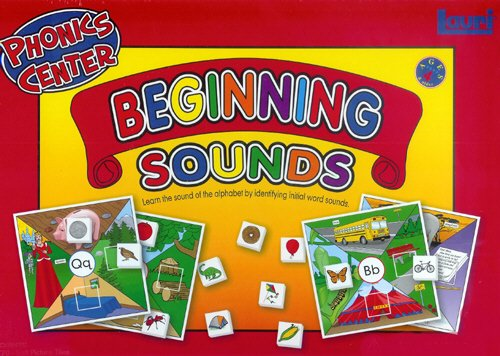 Beginning Sounds Phonics Learning Center Kit