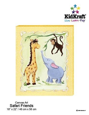 KidKraft Safari Friends Canvas Art Painting
