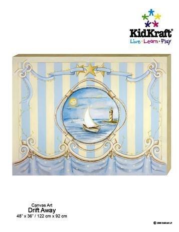 KidKraft Drift Away Canvas Art Painting