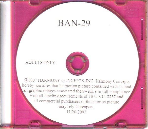 Harmony Concepts Jack Banner BAN-29 DVD