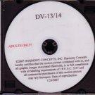 Harmony Concepts Bryan Davis DV-13/14 DVD