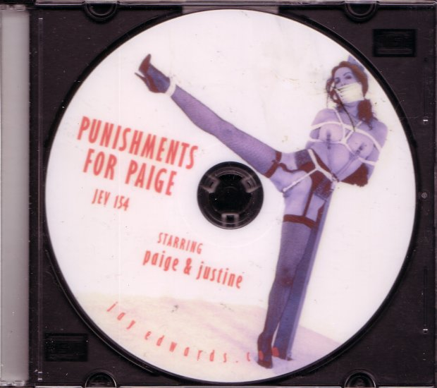 Jay Edwards JEV-154 PUNISHMENTS FOR PAIGE DVD