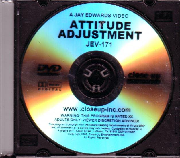 Closeup Concepts Jay Edwards JEV-171 ATTITUDE ADJUSTMENT DVD