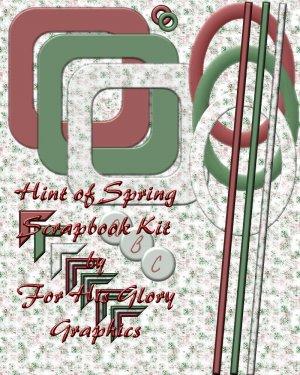 Hint of Spring Scrap Kit