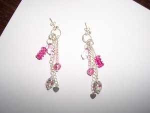 Dangle Charm earrings