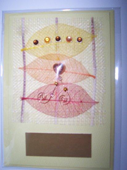 Yellow Gem greeting card