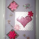 Flower & Heart greeting card
