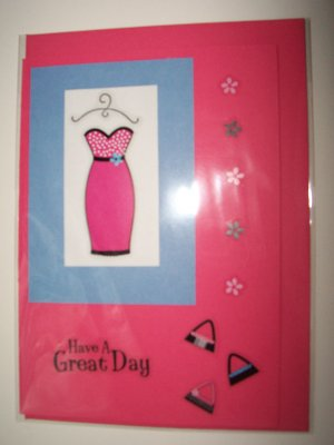 Dress up greeting card