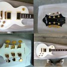 Myaxe Les Paul Custom White Guitar Hand Built + Case and Ship