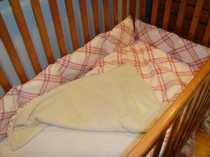 4 piece crib bedding set