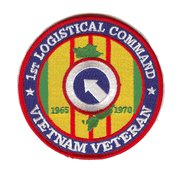 1st Logistical Command Vietnam Veteran Patch 1965-1970