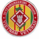 "20th Engineering Brigade Vietnam Veteran 4"" Patch"