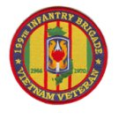 199th Infantry Brigade Vietnam Veteran Patch 1965-1970