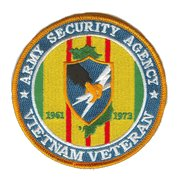 Army security Agency Vietnam Veteran Patch 1961-1973