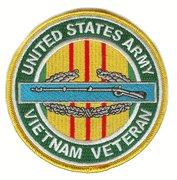 CIB Vietnam Veteran Patch Ribbon Colors