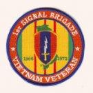 1st Signal Brigade Vietnam Veteran Patch 1966-1972