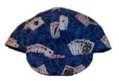 Blue Poker Welder Biker hat, your size