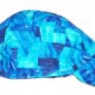 Blue Abstract Welder Biker hat, your size