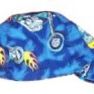 Blue Motorcycle Welder Biker hat, your size