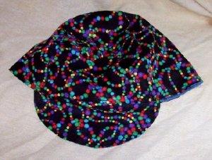 Black Dots Welder Biker hat, your size