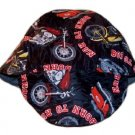 Red Motorcycles Welder Biker hat, your size