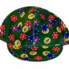 Green Poker Chips Welder Biker hat, your size