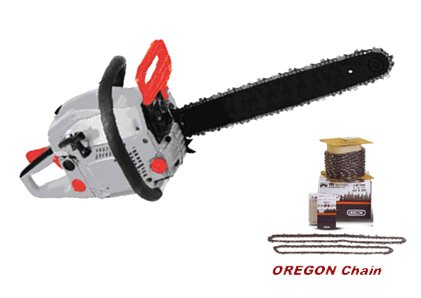 "Hyundai Gas Chain Saw - 45cc. - 20"" Bar"