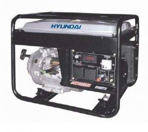 Hyundai; HY7000SE; Gasoline Silent Generator; 5,500 w Cont. Output; 6,500 w Max. Output