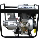 "Hyundai DHY80L 296cc 3,000 RPM Diesel Engine Pump w/ 6HP Direct Injection, 3"" Diameter"