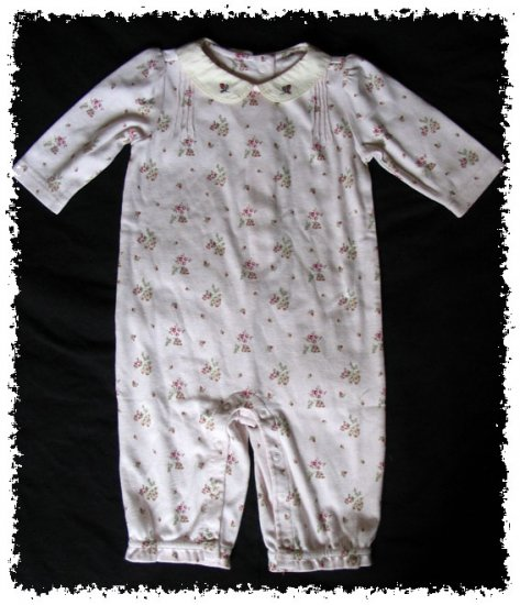 GYMBOREE Winter Berries Light Pink ROMPER - Size 3-6 months