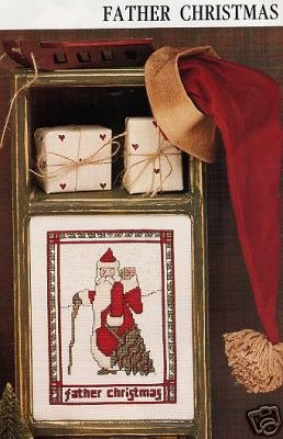 Father Christmas CrossStitch Chart