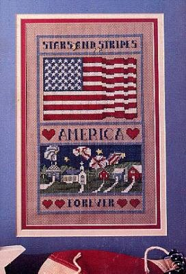 Stars And Stripes Forever Sampler Chart