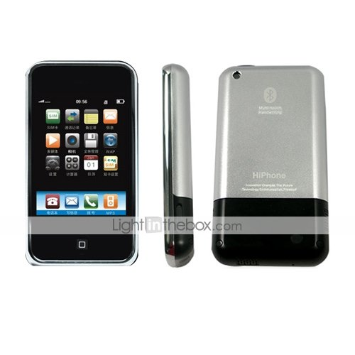 i32 HiPhone Touch Screen Dual SIM GSM MP4 Cell Phone (HiphoneI32)