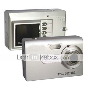 "5.0MP 1.4"" LCD Digital Camera (TDC-202QS2)"